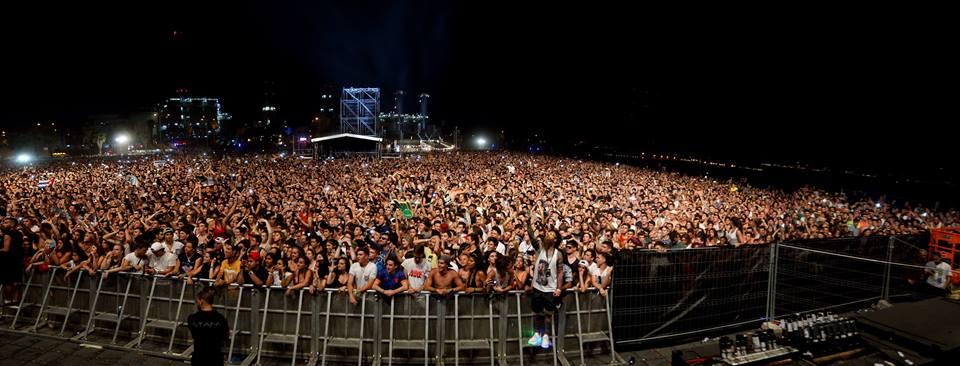 barcelona beach festival